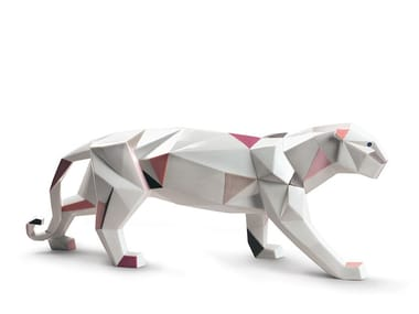 Porcelain decorative object PANTHER