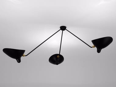 Adjustable metal ceiling lamp SPIDER PAR3B