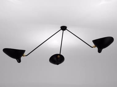 Adjustable metal ceiling lamp PAR3B | Ceiling lamp