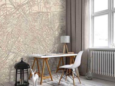 Non-woven paper wallpaper PARIS 1890