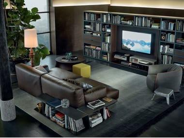Sectional leather sofa PARIS-SEOUL | Leather sofa