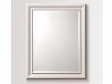 Rectangular wall-mounted framed mirror PARSLEY