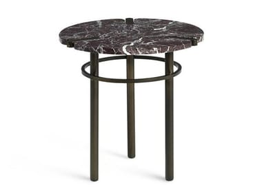 Round marble side table PASEO | Coffee table