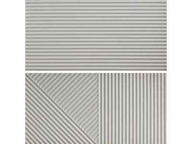 Rivestimento tridimensionale in gres porcellanato PASSEPARTOUT GRIGIO #2