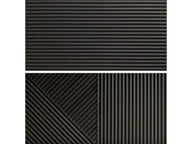 Rivestimento tridimensionale in gres porcellanato PASSEPARTOUT GRAFITE #2
