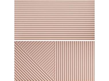 Rivestimento tridimensionale in gres porcellanato PASSEPARTOUT PINK #2