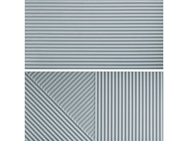 Rivestimento tridimensionale in gres porcellanato PASSEPARTOUT RUSTY BLUE #2