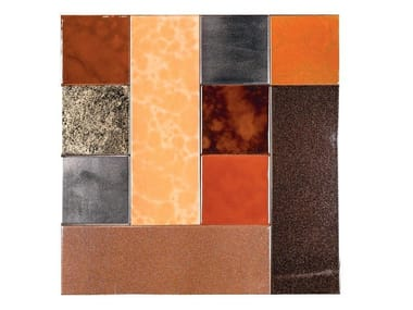 Indoor faïence wall tiles PATCHWORK | PA5