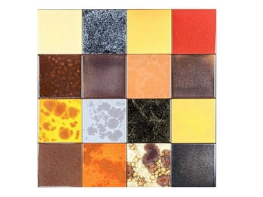 Indoor faïence wall tiles PATCHWORK | PA6