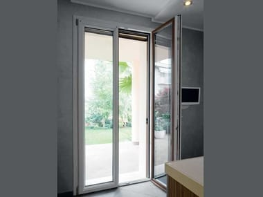 Porta-finestra a battente in PVC PVC   Porta-finestra a battente