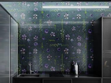 Mosaico in vetro PATTERN DELPHINIUM