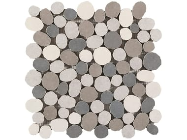 Porcelain stoneware mosaic PAXOS