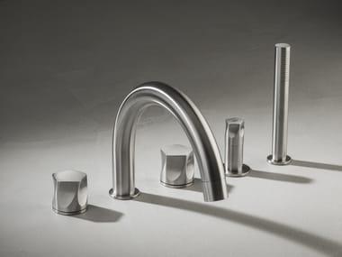Set vasca in acciaio inox con doccetta PE508-509