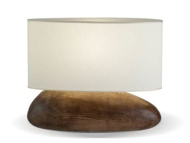 Ash table lamp PEBBLE