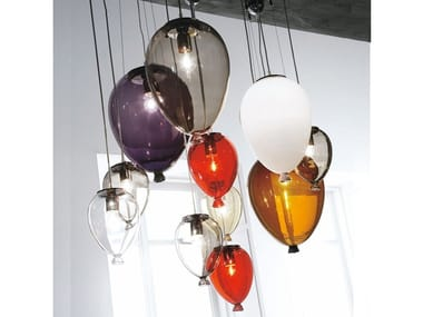 Blown glass pendant lamp BALLOON | Pendant lamp