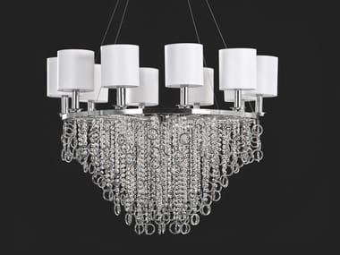 Lampada a sospensione con cristalli LISA | Lampada a sospensione