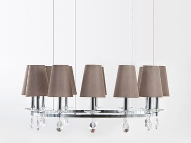 Pendant lamp with crystals OTTAGONO | Pendant lamp