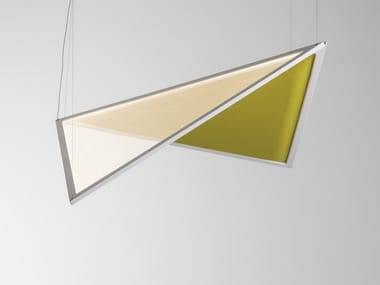 Acoustic swivel pendant lamp FLEXIA | Pendant lamp