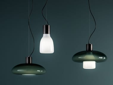 Blown glass pendant lamp ACQUERELLI | Pendant lamp