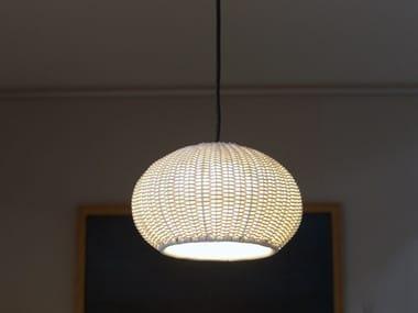LED polyethylene pendant lamp GAROTA S/01 OUTDOOR