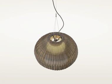 Polyethylene pendant lamp GAROTA S/02 OUTDOOR