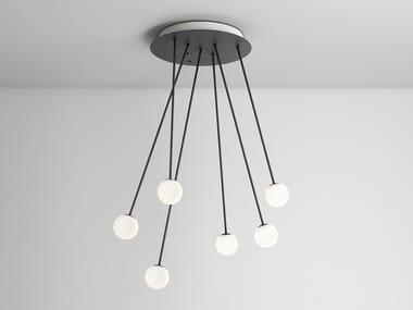 LED pendant lamp with dimmer ALFI | Pendant lamp