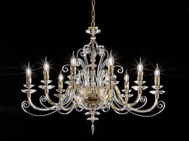 Lampadario con cristalli Swarovski® ALICANTE CHARME ELLIPSE L10