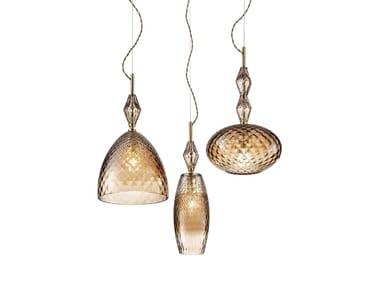 Crystal pendant lamp MOOD TRIS