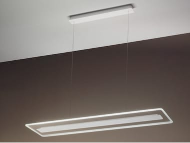 LED glass pendant lamp ANTILLE | Pendant lamp