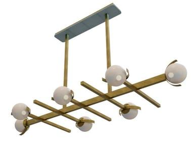 Brass pendant lamp GRETA | Pendant lamp