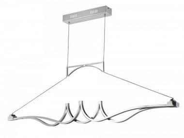 LED metal pendant lamp WAVE | Pendant lamp