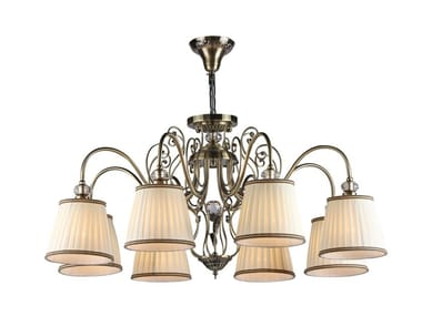 Metal chandelier VINTAGE | Pendant lamp