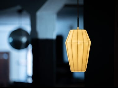 Suspension LED en porcelaine CALLISTO | Suspension