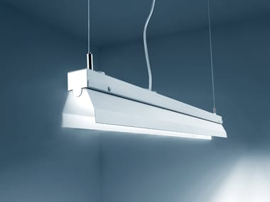 LED direct light steel pendant lamp PENCIL | Pendant lamp