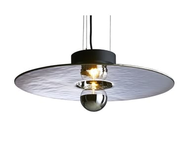 Handmade Thermoformed glass pendant lamp MIRAGE | Pendant lamp