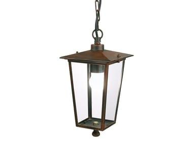 Lampada a sospensione per esterno in alluminio e vetro NOTORIUS   Lampada a sospensione per esterno