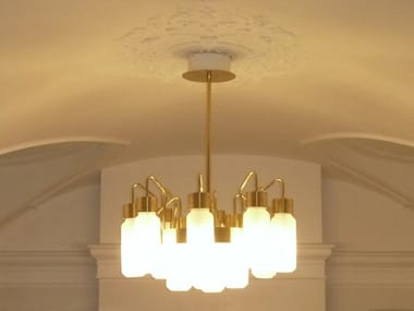 Metal chandelier Pendant lamp
