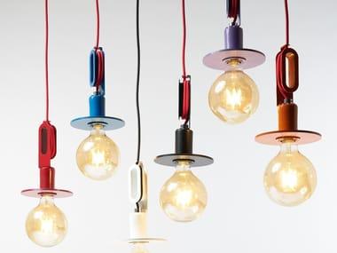 Lampada a sospensione a luce diretta in metallo DRIYOS NAKED | Lampada a sospensione