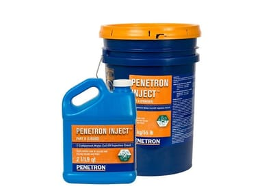 Additive and resin for waterproofing PENETRON INJECT®