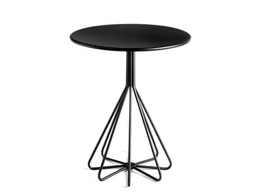 Round metal contract table PEPE | Table