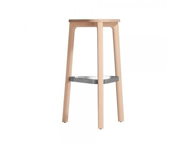 High beech stool PERCH 536M