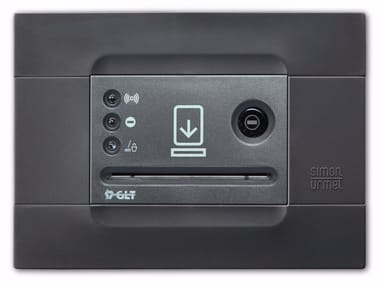Electronic card lock for hotels PERSEO 1048/715