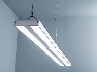 Lampada a sospensione a LED in policarbonato PESOS