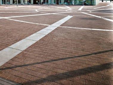 Concrete paving block PETRA - NATURA