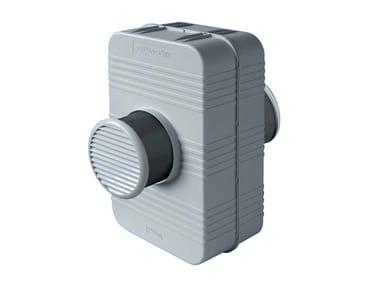 Silenziatore scatolato per fori di ventilazione PH160