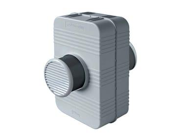 Silenziatore scatolato per fori di ventilazione PH200