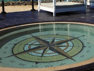 Indoor/outdoor polyurethane mosaic PHOTOGRAPHIC MOSAIC - OUTDOOR AND POOL 3