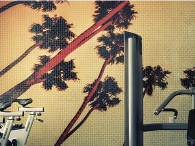 Indoor/outdoor polyurethane mosaic PHOTOGRAPHIC MOSAIC - SPA AND WELLNESS 6