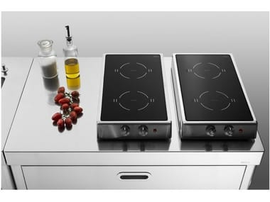 Induction folding stainless steel hob Induction hob