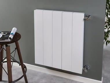 Wall-mounted aluminium radiator PIANO PLAIN